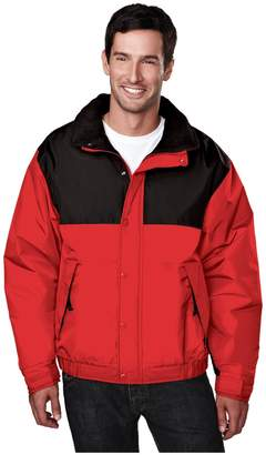 Tri-Mountain Men's Big And Tall Water Resistant Fleece Shell Jacket