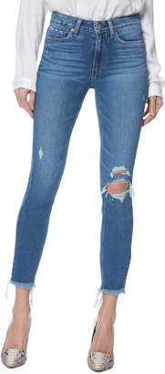 Paige Hoxton Ripped Ankle Skinny Jeans