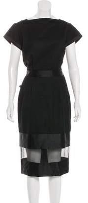 Richard Nicoll Wool Midi Dress
