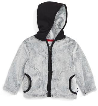 Splendid Faux Fur Hooded Jacket (Baby Boys) $44 thestylecure.com