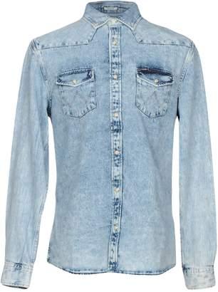 Wrangler Denim shirts - Item 42663431UO