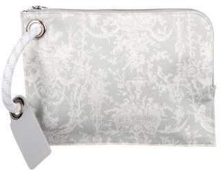 Christian Dior Printed Canvas Wristlet