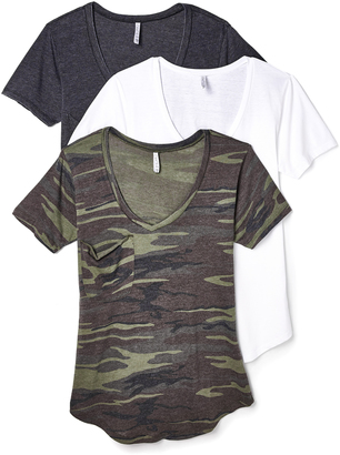 Z Supply Camo Tee 3 Pack $98 thestylecure.com