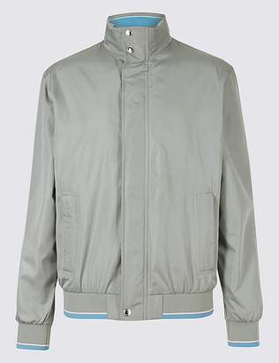 Marks and Spencer Lightweight Bomber Jacket with StormwearTM