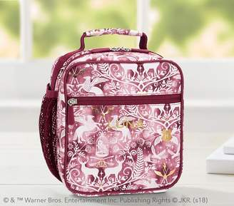 Pottery Barn Kids Gear-Up HARRY POTTERTM; Magical Damask Classic Lunch Bag, Burgundy