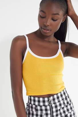 Out From Under Drop Needle Cropped Cami