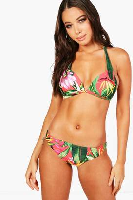 boohoo LA Mix & Match Tropicana Fixed Brief