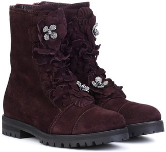 Jimmy Choo Havana Flat suede boots