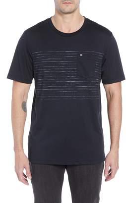 Travis Mathew Outliner Striped Pocket T-Shirt