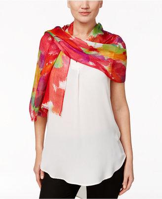 Lauren Ralph Lauren Nina Floral Scarf $45 thestylecure.com