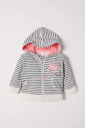 H&M Hooded Jacket - White