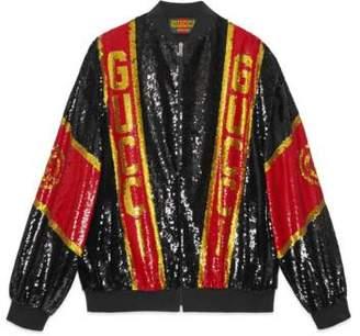 Gucci Dapper Dan sequin jacket