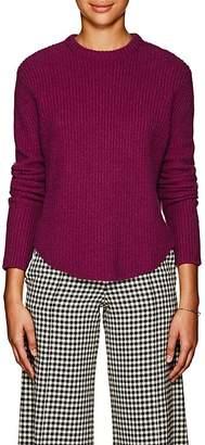 Derek Lam Women's Cashmere Shirttail-Hem Sweater