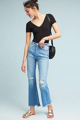Mother The Tripper Ultra High-Rise Cropped Flare Jeans