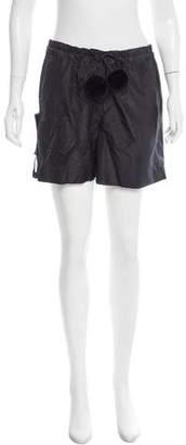 Viktor & Rolf Silk Mini Shorts