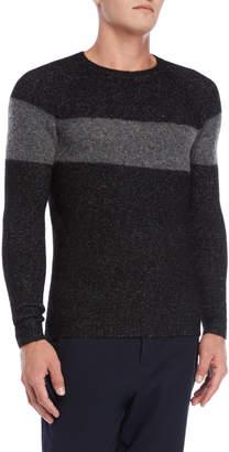 Antony Morato Color Block Fuzzy Sweater