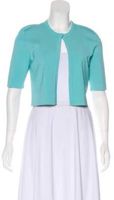 Lela Rose Lightweight Short Sleeve Cardigan