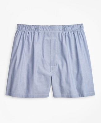 Brooks Brothers Traditional Fit Micro-Ground Stripe Boxers