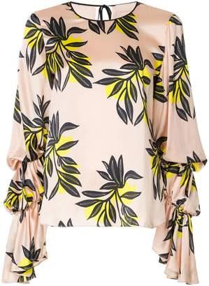 Roksanda floral print blouse