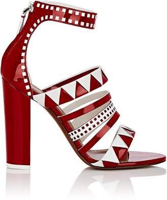 Alaia Women's Geometric Leather Multi-Strap Sandals