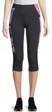 Nanette Lepore Printed Spliced Skimmer Leggings