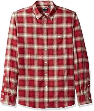 Todd Snyder Men's Button Down Shirt Plaid Flannel