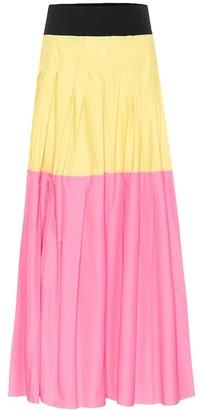Plan C Pleated maxi skirt