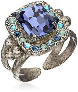 Sorrelli Womens Moonlit Shores Opulent Octagon Ring