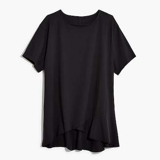 Nevereven asymmetrical ruffle T-shirt