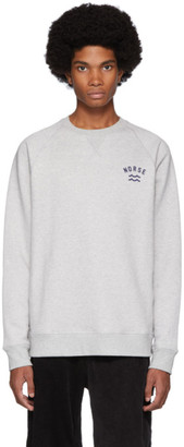 Norse Projects Grey Ketel Ivy Wave Sweatshirt