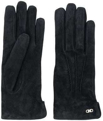 Salvatore Ferragamo cashmere-lined gloves