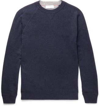 Brunello Cucinelli Mélange Virgin Wool, Cashmere and Silk-Blend Sweater