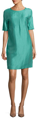 Max Mara Weekend Max Mara Astrale Jade Solid Dress