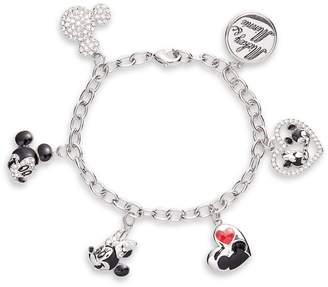 Disney Mickey & Minnie Charm Bracelet