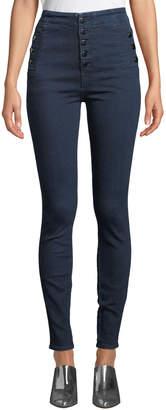 J Brand Natasha Sky-High Super Skinny Ankle Jeans