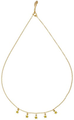 Harry Rocks Astrid Short Star Necklace Gold
