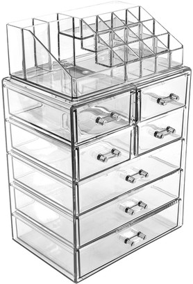 Sorbus Makeup & Jewelry Storage Case Display