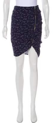 Veronica Beard Printed Knee-Length Skirt