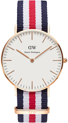 Daniel Wellington Classic Canterbury 36mm Rose Gold Watch