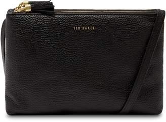 Ted Baker Maceyy Double Zip Leather Crossbody Bag