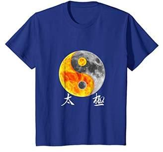 Yin & Yang Yin Yang T-Shirt Tai Chi Symbol Sun Moon Chinese Kung Fu Tee