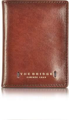 The Bridge Dark Brown Leather Card Holder