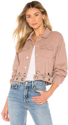 superdown Kylie Crop Denim Jacket.