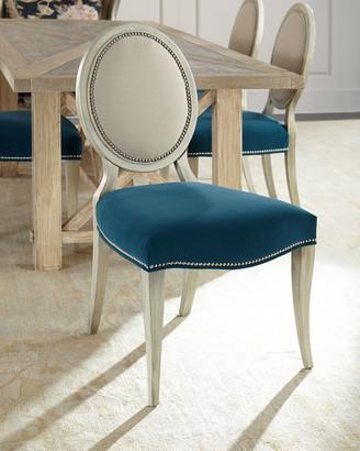 Paige Massoud Linen Dining Chair