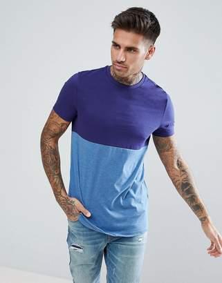 Asos DESIGN t-shirt with contrast body block