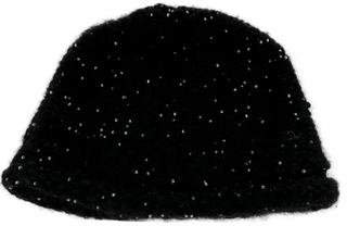 Chanel Beaded Knit Beanie