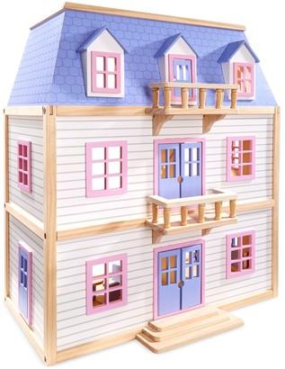 Melissa & Doug Modern Wooden Multi-Level Dollhouse