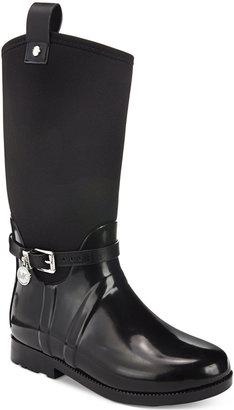 Michael Kors Girls' or Little Girls' Brea Charm Rainboots $60 thestylecure.com