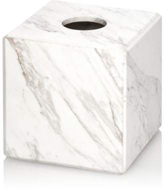 Water Works Waterworks Studio White Marble Tissue Holder