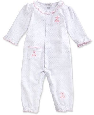 Kissy Kissy Baby Ballet Slippers Coverall, Pink, Size 3-18 Months $50 thestylecure.com